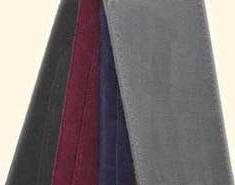 Colours : grey, blue, burgundy, black.