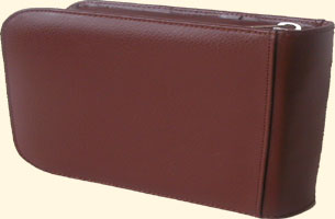Leather Wallet for 1 watch + 1 pocket for guarantee