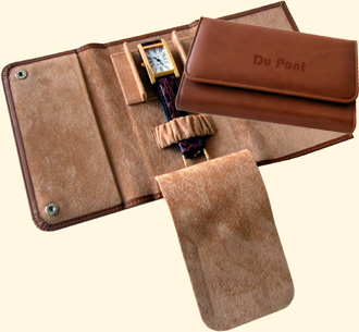 Leatherette Wallet for 1 watch